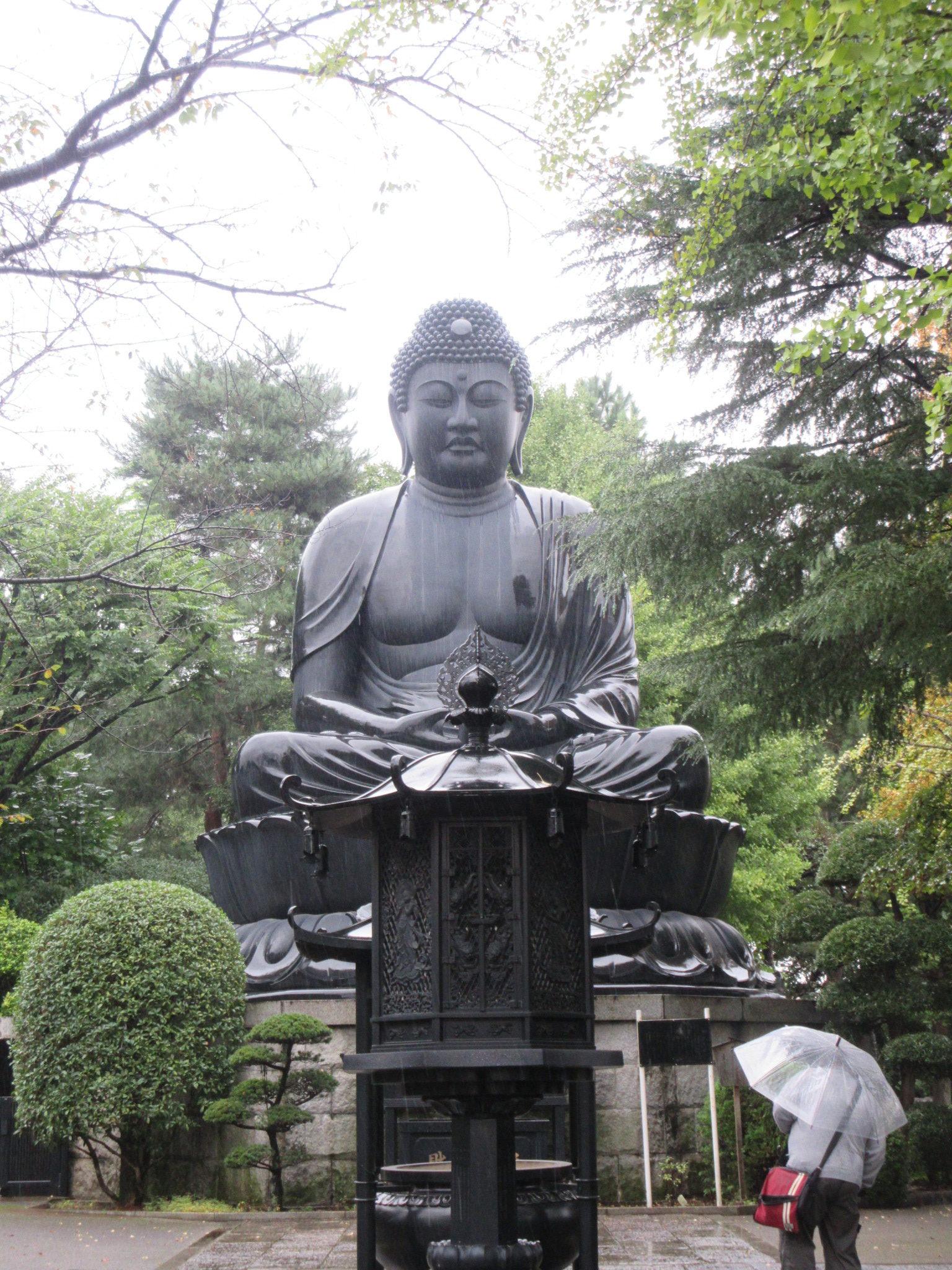 週末プログラムで東京大仏・郷土資料館に行ってきました